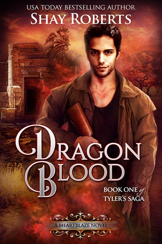Dragon Blood: A Heartblaze Novel (Tyler's Saga #1)
