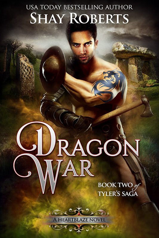 Dragon War: A Heartblaze Novel (Tyler's Saga #2)